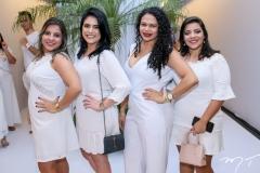 Georgia Coriolano, Rochele Lopes e Iara Maria e Beatriz Melo
