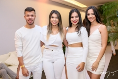 Jarlison Oliveira, Mariana e Naiara Mesquita e Maressa Martins