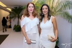 Juliana Braga e Thais Cunha