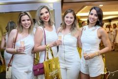 Michele Amente, Fernanda Mourão, Bianca Remigio e Raisa Fortaleza