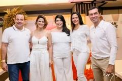 Rodrigo e Juliana Roma, Sellene Câmara, Shirley e Cesar Roma