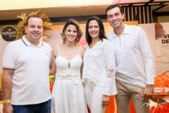 Rodrigo e Juliana Roma, Shirley e César Roma