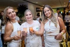 Rose Oliveira, Vaneide de Domenico e Andreia de Oliveira