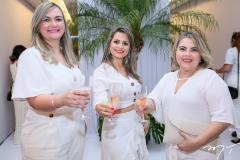 Sabrina Glícia, Eudoxia Sousa e Liliane Goes