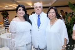 Sellene Câmara, José e Lúcia Benevides