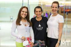 Cláudia Alexandre, Márcia Travessoni e Jennifer Montenegro