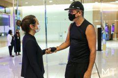 Márcia Travessoni e Sandro George