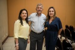 Ana Paula Cândido, Lélio Matias e Regina Caetano