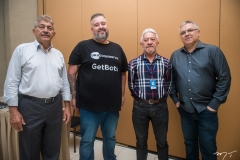 Lélio Matias, Aldo-Pacheco, Ivan Moreira e Paulo Kendzerski