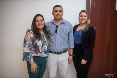 Lania Cybelle, Alex Pinto e Vanessa Portela