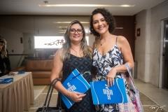 Lina Freire e Cris Araújo