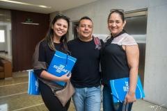 Natália Boaventura, Monteiro Rocha e Aglais Rodrigues
