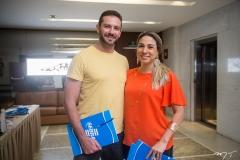 Patrick Simão e Karine Façanha