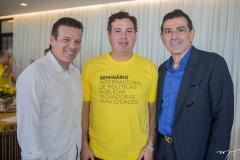 Ferruccio Feitosa, Samuel Dias e Alexandre Pereira
