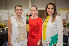 Márcia Travessoni, Águeda Muniz e Patrícia Macedo