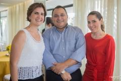 Manuela Nogueira, Moacir Maia e Águeda Muniz