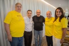 Moroni Torgan, Aníbal Gaviria, Silvio Meira, Roberto Cláudio e Patrícia Macedo