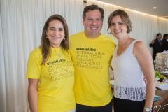 Patrícia Macedo, Samuel Dias e Manuel Nogueira