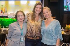 Tânia Gurgel, Lia Ferreira Gomes e Paola Braga
