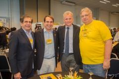 Zezinho Albuquerque, Salmito Filho, André Figueiredo e Moroni Torgan