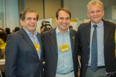 Zezinho Albuquerque, Salmito Filho e André Figueiredo