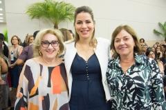 Socorro França, Onélia Santana e Ana Maria Studart