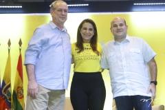 Ciro Gomes, Patrícia Macedo e Roberto Cláudio