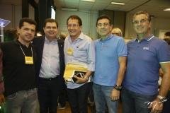Erick Vasconcelos, Mauro Filho, Elpídio Nogueira, Alexandre Pereira e Ricardo Sales