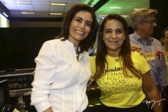 Giuliana Morrone e Patrícia Macedo