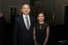 Alexandre Goiana e Cintia Furtado