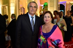 Alfredo Gurjão e Júlia Philomeno