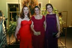 Aline Félix Barroso, Viviane Rocha e Ticiana Rolim Queiroz