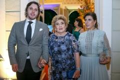 Aluísio Neto, Consuelo e Regina Dias Branco