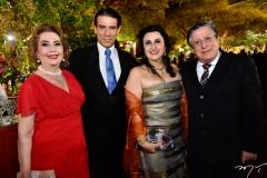 Angélica Pinto, Wilson Loureiro, Marlene e Paulo Mindello