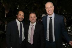Antônio Almeida, Rômulo Dias e Fernando Freiberg