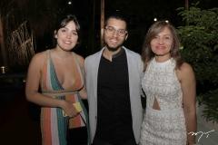 Beatriz Tigre, Gustavo Pacelli e Andreia Lima