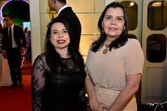 Berilana Cavalcante e Leandra Machado