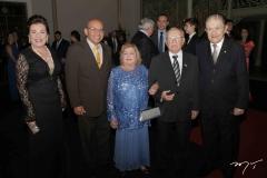 Bernadete Bezerra, Nildo sobral, Teresita e Ubiratan Aguiar e Mauro Benevides