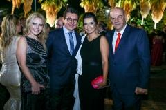 Branca e Racine Mourão, Márcia e Fernando Travessoni