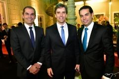 Cândido Pinheiro, Ruy do Ceará e Cláudio Vale