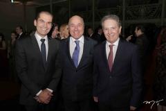 Cândido Pinheiro, Silvio Frota e Cláudio Rocha