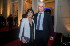 Denise Mattar e Leonardo Leal