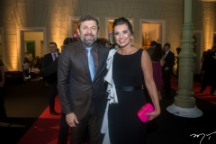 Élcio Batista e Márcia Travessoni