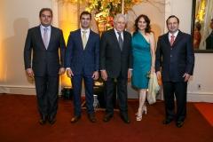 Edson Queiroz Neto, Abelardo Rocha, Fernando de Mendonça, Marcia Barberio e Igor Queiroz Barroso