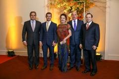 Edson Queiroz Neto, Abelardo Rocha, Paula e Silvio Frota e Igor Queiroz Barroso