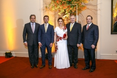 Edson Queiroz Neto, Abelardo Rocha, Sônia e Sulivan Mota e Igor Queiroz Barroso