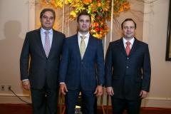 Edson Queiroz Neto, Abelardo Rocha e Igor Queiroz Barroso