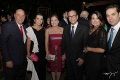 Fernando e Márcia Travessoni, Ana e Beto Studart, Renata e Cláudio Vale