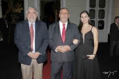 Gil Farias, Benildo Sousa Cavada e Kyria Santiago