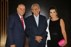 Fernando Travessoni, Espedito Seleiro e Márcia Travessoni